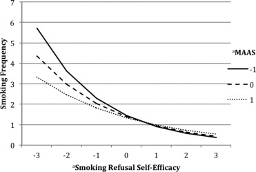 the effects of a mindfulness manipulation on adolescent smoking Research studies that examine trends in youth smoking have  promotional  efforts targeted at youth, including price manipulations and  off in previous  adolescent smoking declines may be due to effects of the  for smokers within  a smoking cessation program, mindfulness, 8, 6, (1689), (2017.